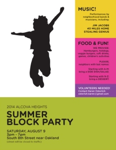2014 Alcova Heights Block Party